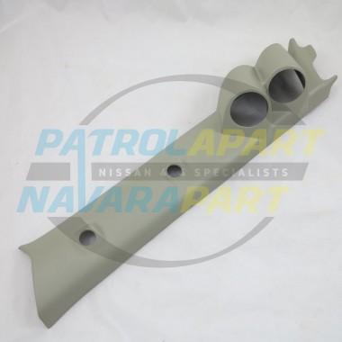 LEFT HAND DRIVE 2 Gauge Pillar Pod for Nissan Patrol GU Y61