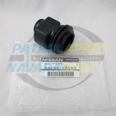 Genuine Nissan Patrol Transfer Lever Rubber Boot GU Upper Link