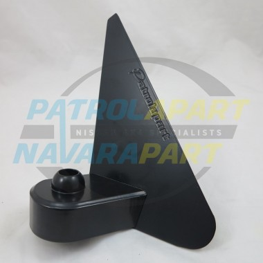 Nissan Patrol GU CNC Machined Aluminium RH Manual Mirror Bracket