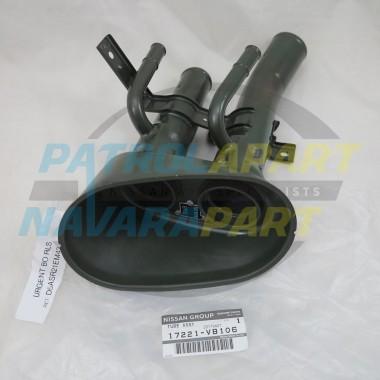 Genuine Nissan Patrol GU Twin Filler Neck Petrol TB45 TB48