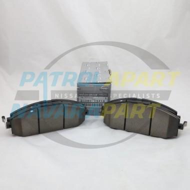 Genuine Nissan Patrol GU Y61 Front Brake Pads