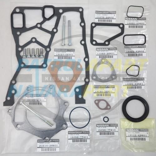 Nissan Patrol GQ Late GU N/A TD42 Timing Cover Gasket Set