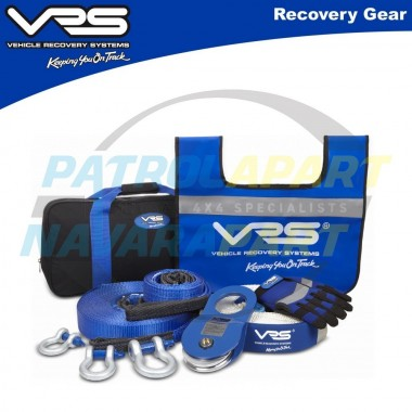 VRS Full Recovery Kit for 4wd winching & 4wd recovery