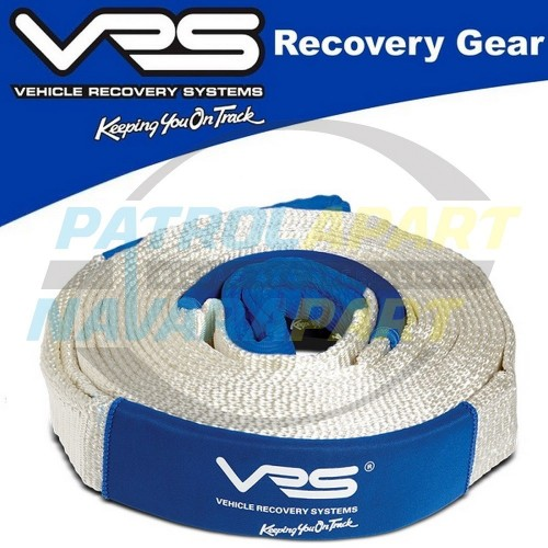 VRS Snatch Strap 10m x 8000kg for 4wd winch 4x4 recovery