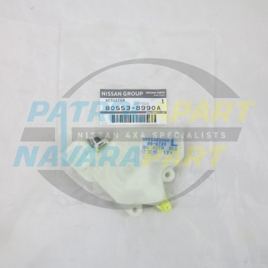 Genuine Nissan Patrol GU LHF Door Lock Actuator