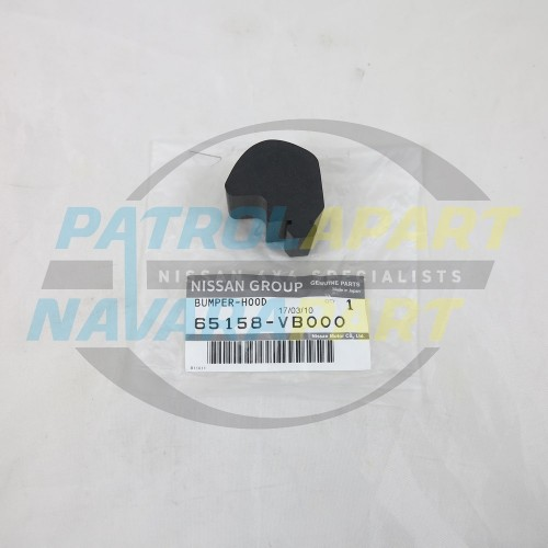 Genuine Nissan Patrol GU Y61 Series 1-3 Bonnet Middle Rubbers