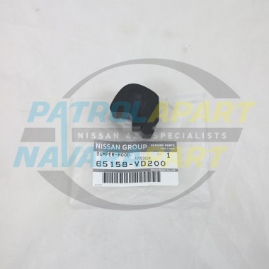 Genuine Nissan Patrol GU Y61 Series 4 Bonnet Middle Rubbers