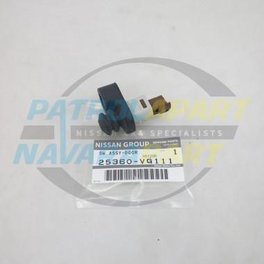 Genuine Nissan Patrol GQ GU Door Switch Brown 1 Pin with Rubber