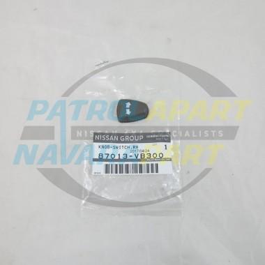 Genuine Nissan Patrol GU TI RH Electric Seat Recline Switch Knob K