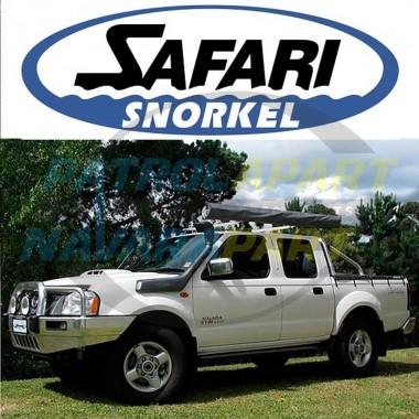 Nissan Navara D22 YD25 Genuine Safari Snorkel Dual Battery