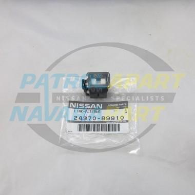 Genuine Nissan Patrol GQ TD42 65Amp Black Fusible Link Fuse