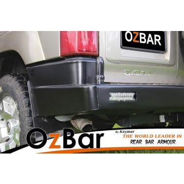 OZBAR Rear Bar suit Nissan Patrol GU With Two Pivots but No Carriers