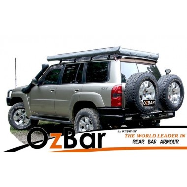 Nissan Patrol GU4 OZBAR With Two Spare Tyre Carriers