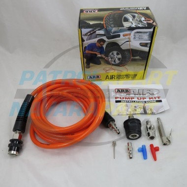 ARB Tyre Tire Inflation Pump Up Hose Kit for CKMA12 Compressor suit Nissan Patrol GQ GU Y62