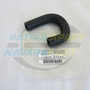 Genuine Nissan Patrol Breather Hose GQ Y60 TB42 EFI Rear