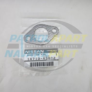 Nissan Patrol GU Y61 EGR Blank / Block off plate TD42Ti