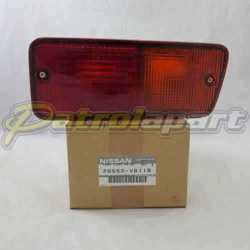 Genuine Nissan Patrol GQ & GU rear bar light Right Hand