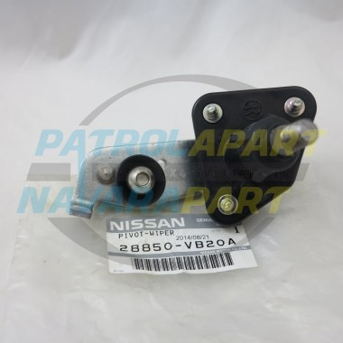 Genuine Nissan Patrol GU Y61 Wiper Arm Pivot left Hand Side