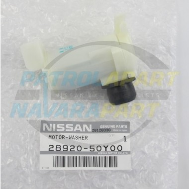 Nissan Patrol GQ Y60 Genuine Front Washer Pump Motor