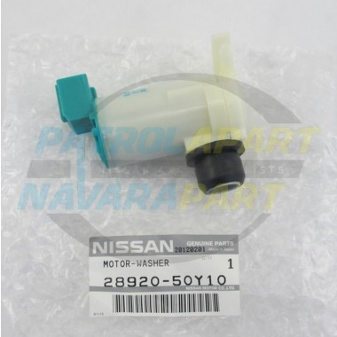 Nissan Patrol GQ Y60 Genuine Rear Washer Pump Motor