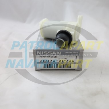 Genuine Nissan Patrol Washer Pump Motor GU Series 4 Front GU4