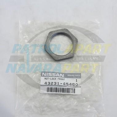 Genuine Nissan Patrol GQ Genuine Hub Lock Nuts