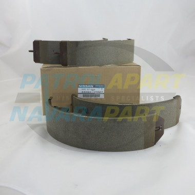 Nissan Patrol Genuine GQ GU Drum brake Shoes