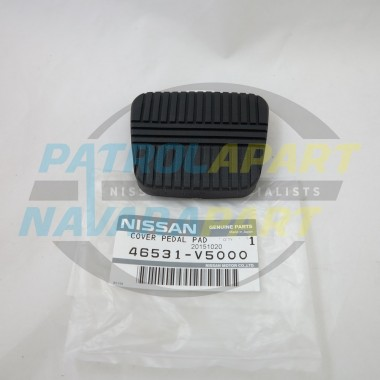 Genuine Nissan Patrol Manual Pedal Rubber GQ Y60 clutch/brake