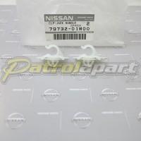 Genuine Nissan Patrol Jack Handle Clip Kit GQ-GU Wagon