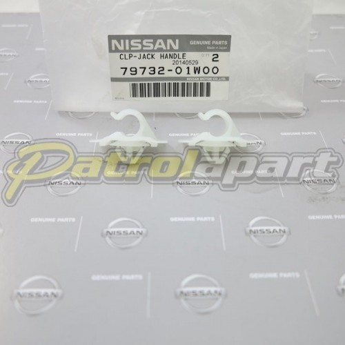 Genuine Nissan Patrol Jack Handle Clip Kit GQ-GU Wagon
