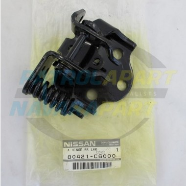 Nissan Patrol Genuine GQ Y60 LHF Lower Door Hinge