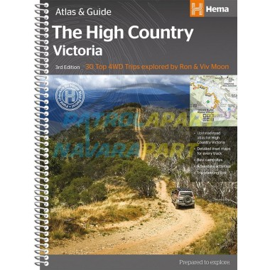 Hema Victorian High Country Atlas & Guide NEW 3rd Edition