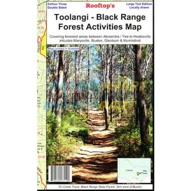 Toolangi - Black Range Forest Activities Map 3rd Edition - Rooftop