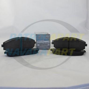 Nissan Patrol GU Y61 Genuine Front Brake Pads PAIR