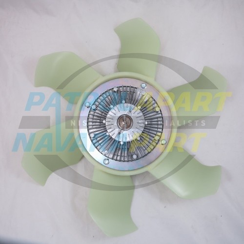 Details about UFI Viscous Hub Fan Blade Assembly for Nissan Patrol GU TD42  TB45 (UFIVFHA)