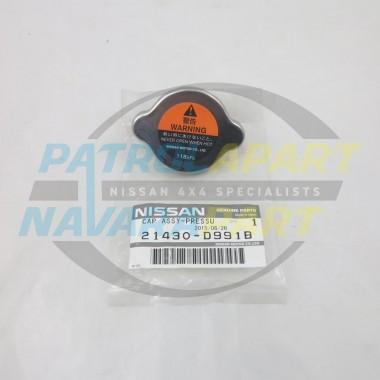 Genuine Nissan Patrol GQ & GU TB48 118Kpa 1.2 Radiator Cap