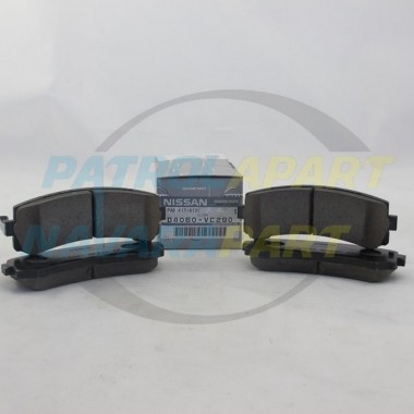 Nissan Patrol GU TB48 4.8 Genuine Rear Brake Pads Set