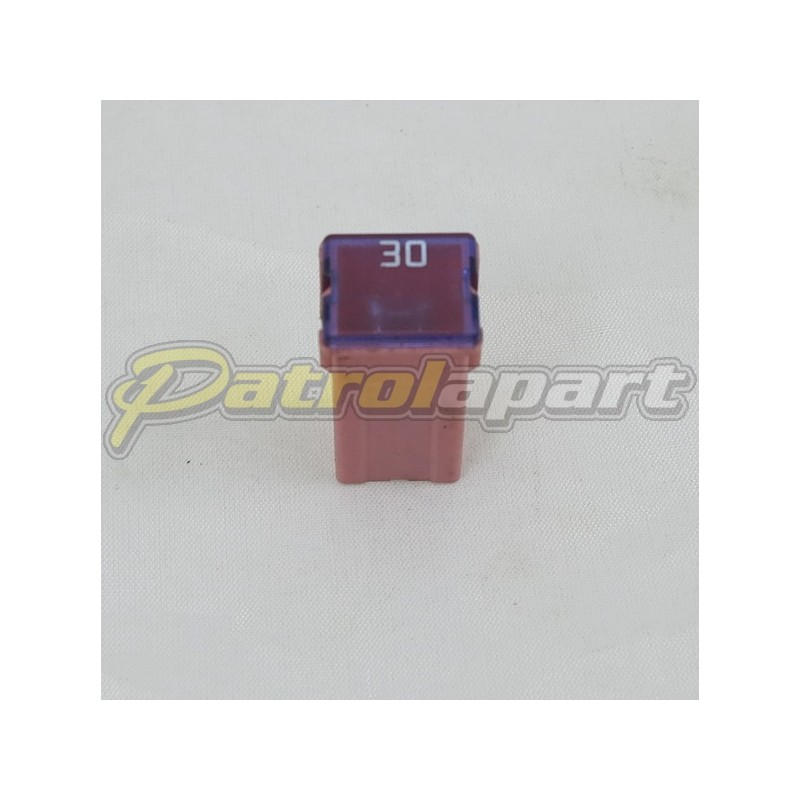 Nissan Patrol GU 30Amp Push in Pink Fuse S/H