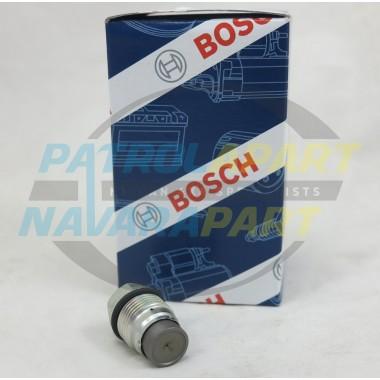 Nissan Patrol GU ZD30CR Bosch Pressure Relief Valve