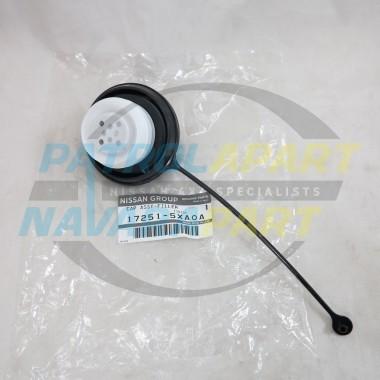 Genuine Nissan Patrol Y62 Fuel Cap
