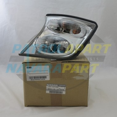 Genuine Nissan Patrol GU series 3 LH Corner Light