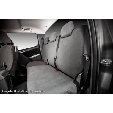 MSA Seat Cover Tradie Nissan Navara NP300 16oz Second Row
