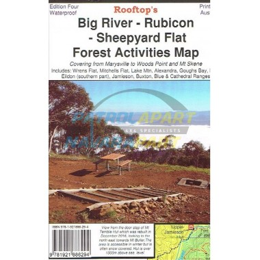 Big River Rubicon Sheepyard Forest Activities Rooftop Map