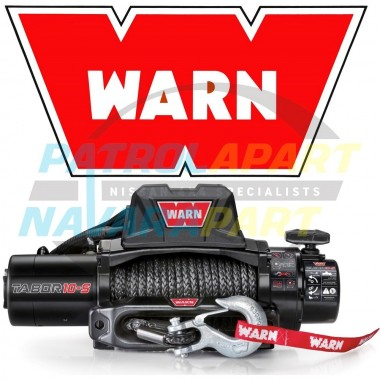 New Warn Tabor 10-S Synthetic Rope 4x4 Winch 10000lb Patrol