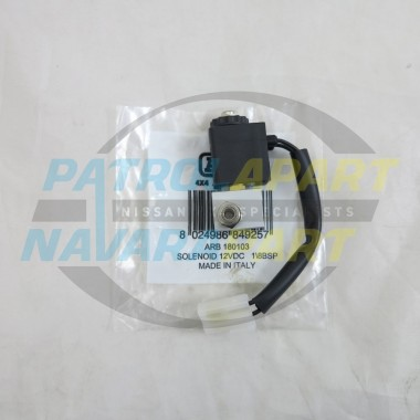 ARB Airlocker Pneumatic Solenoid for Diff Locks Nissan Patrol 4x4