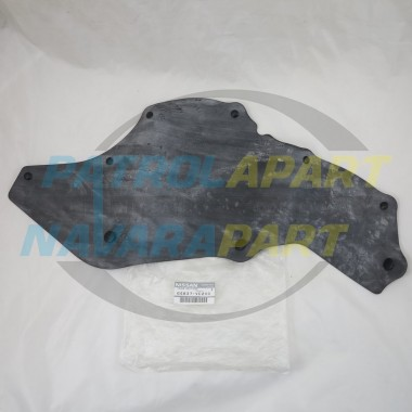 Genuine Nissan Patrol GU Y61 TB45 ONLY LH Splash Guard Liner