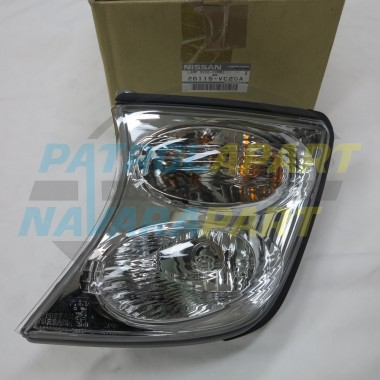 Genuine Nissan Patrol GU Y61 UTE LH Series 3 Corner Light