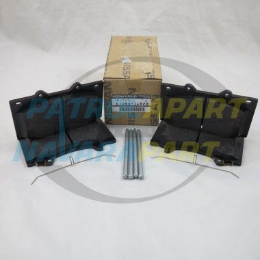 Nissan Patrol Y62 Genuine Front Brake Pads Kit