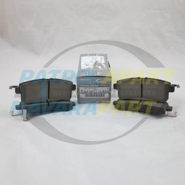 Nissan Patrol Y62 Genuine Rear Brake Pads Kit