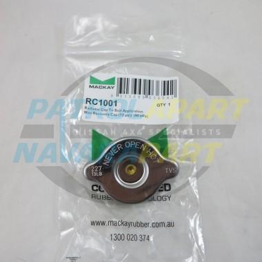 Nissan Patrol GQ Y60 GU Y61 88kpa 13PSI 1.1Bar Radiator Cap Standard